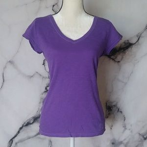 Aeropostale Women's Original Blend Soft V-Neck Tee